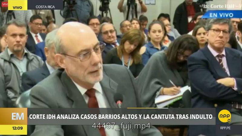 La Corte IDH realizó este viernes la audiencia para la revisión del cumplimiento de las sentencias de los casos Barrios Altos y La Cantuta.