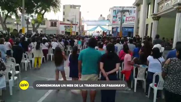 Familiares y autoridades de Huaura participaron de una misa en el centro de la plaza donde recordaron.