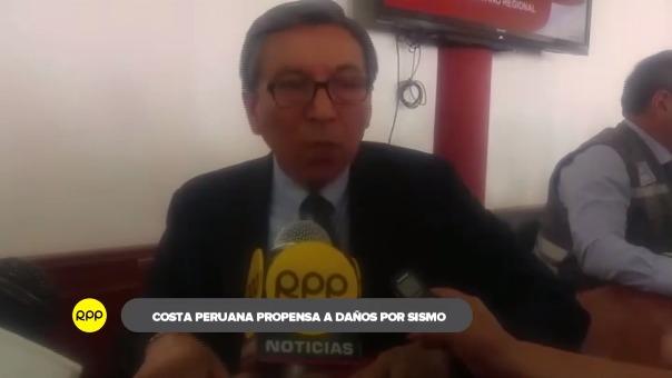 Hernando Tavera, presidente ejecutivo del IGP, explicó que los terremotos son cíclicos y vuelven en el tiempo. El último evento ocurrió en 1868 en Perú.