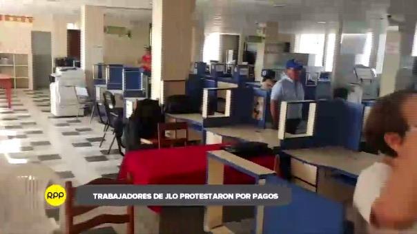Labores quedaron paralizadas en municipio por huelga