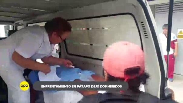 Heridos conducidos a clínica