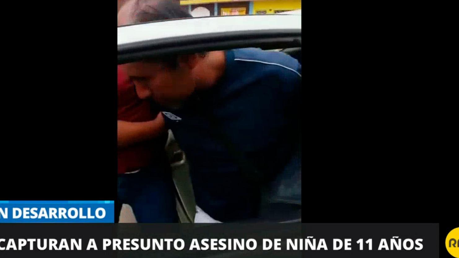 Capturan a presunto asesino de niña de 11 años
