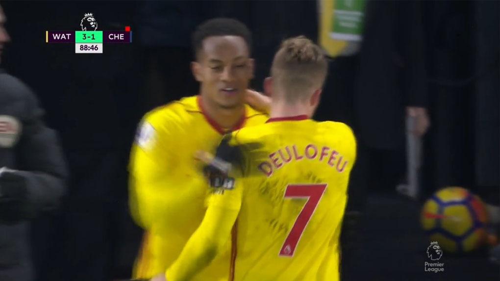 André Carillo juega poco en el Watford.