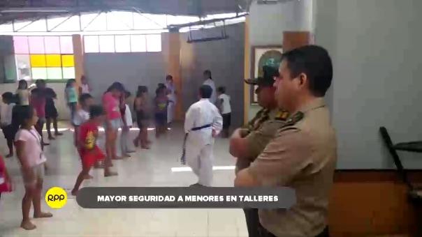 Se pidió a los familiares a permanecer muy vigilantes de sus hijos en cada una de sus actividades.