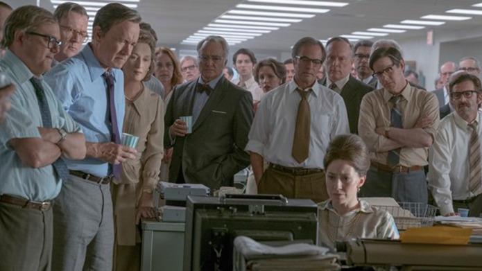 The Post ha recibido críticas mayormente positivas, sobre todo por las actuaciones de Streep, Hanks y Odenkirk, y comparaciones entre las administraciones de Richard Nixon y Donald Trump.