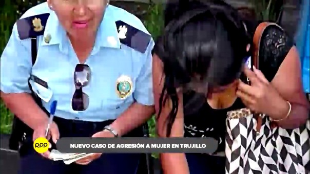 La agredida fue auxiliada por agentes de seguridad ciudadana, mientras que el agresor fue conducido a la comisaría El Alambre.