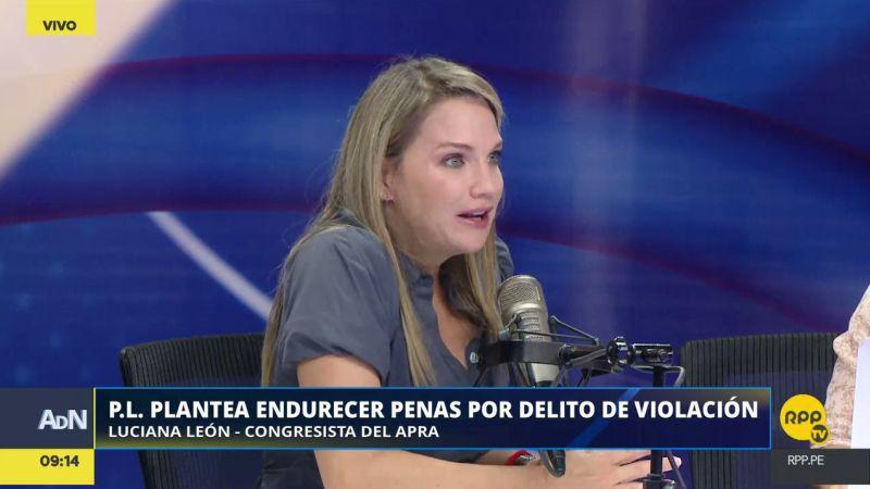 Luciana León estuvo esta mañana en Ampliación de Noticias.