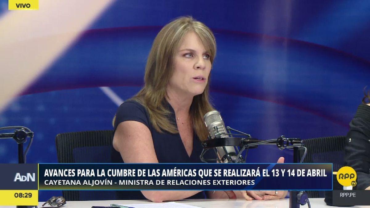 En enero, Cayetana Aljovín reemplazó a Ricardo Luna en el Ministerio de Relaciones Exteriores.