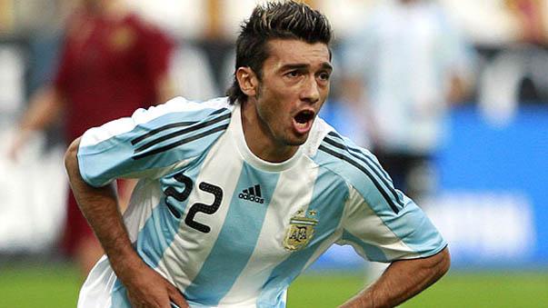 Jesús Dátolo jugó en la Selección de Argentina y anotó dos goles.
