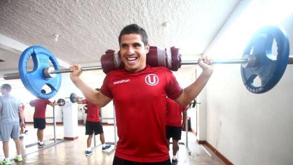 Aldo Corzo es el goleador de Universitario con 3 tantos en lo que va del año.