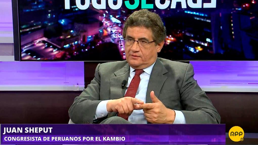 Juan Sheput, congresista de Peruanos por el Kambio
