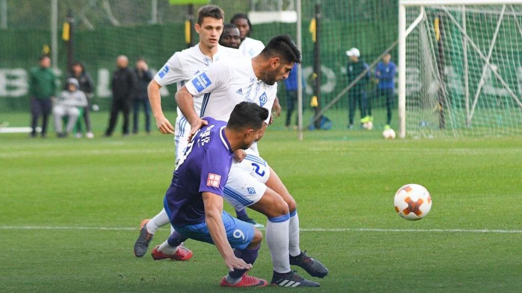 Carlos Zambrano fue titular en el triunfo del Dinamo Kiev ante el Tianjin Teda.