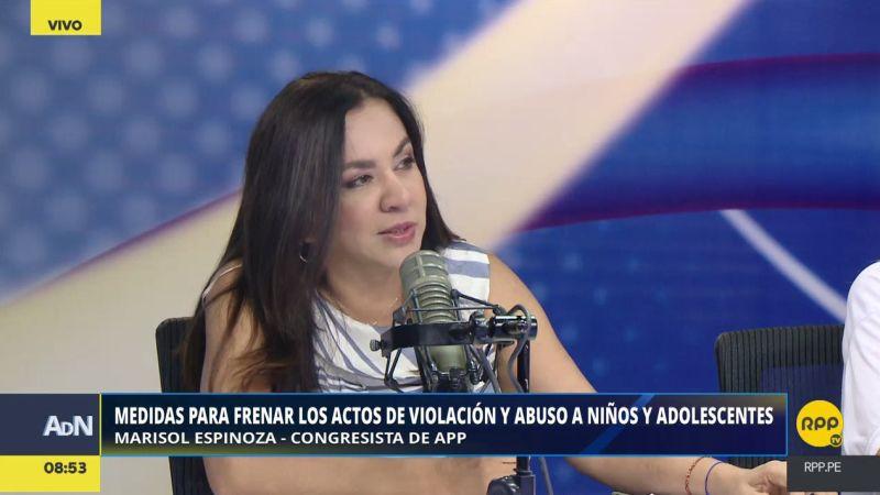 Marisol Espinoza estuvo esta mañana en Ampliación de Noticias.