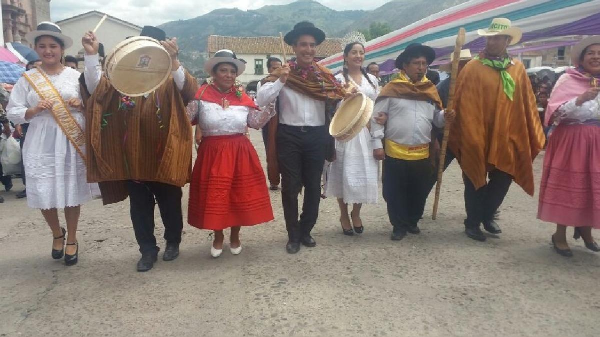 Ministro de Cultura, Alejandro Neyra inició Carnaval Ayacuchano 2018.