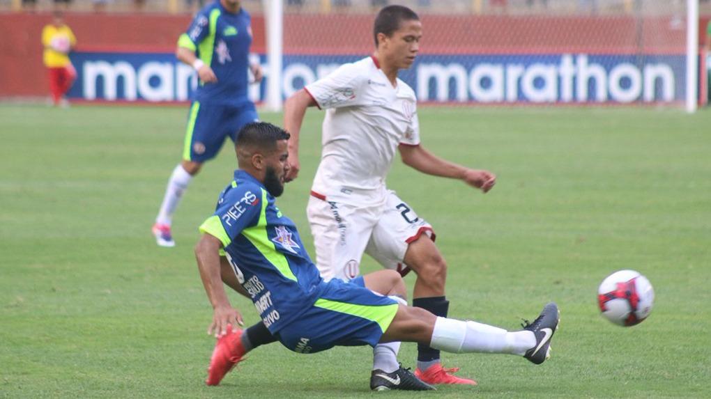 Paolo de la Cruz jugó su cuarto partido como futbolista profesional.