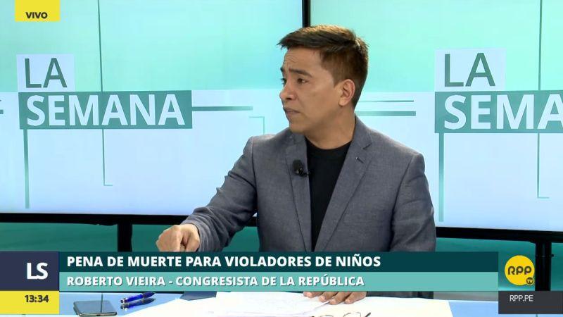 Roberto Vieira presentó esta semana una moción para que Perú se retire del Pacto de San José.