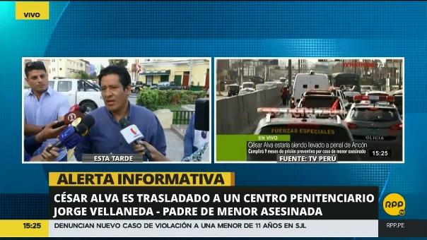 El padre de Jimena criticó la rapidez de las autoridades judiciales en el caso del asesinato de su hija.