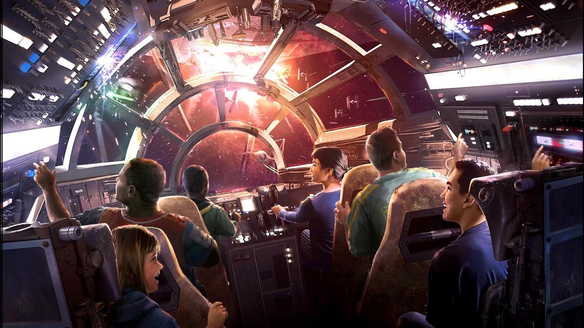 Este video fue publicado en 2017 por Disney cuando anunció que construirá parques temáticos del universo de