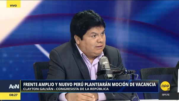 Frente Amplio y Nuevo Perú plantearán nueva moción de vacancia