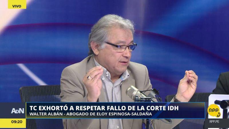 Walter Albán estuvo esta mañana en Ampliación de Noticias.