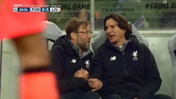 Liverpool apabulló al Porto en el Estadio Do Dragao.