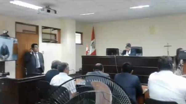 Audiencia por el caso Roberto Torres.