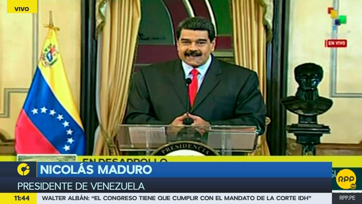 Nicolás Maduro habló sobre su presencia en la Cumbre de las Américas durante una conferencia de prensa.