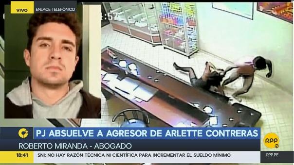 RPP Noticias  se comunicó con Arlette Contrertas y dijo desconfiar de la justicia peruana.