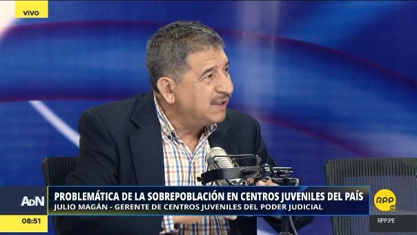 Magán resaltó la problemática de la sobrepoblación en centros juveniles.