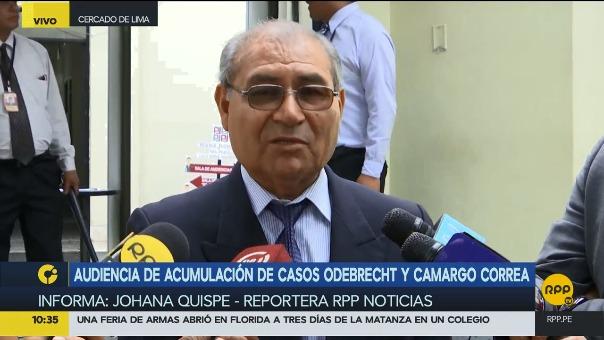 La defensa de Toledo indicó que la unificación de las investigaciones del expresidente