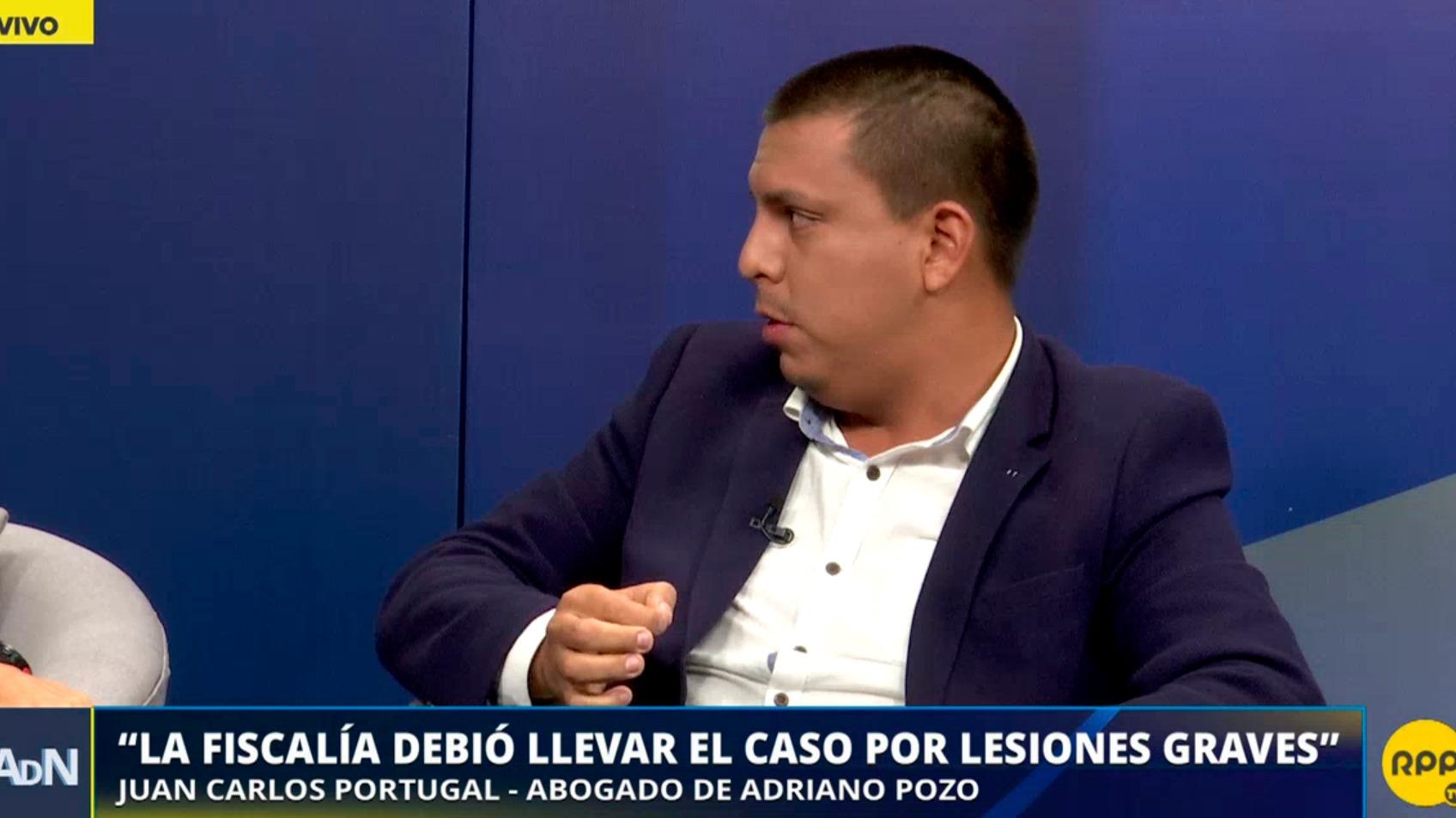 Juan Carlos Portugal, abogado de Adriano Pozo, defendió el fallo que absolvió al agresor de Arlette Contreras.