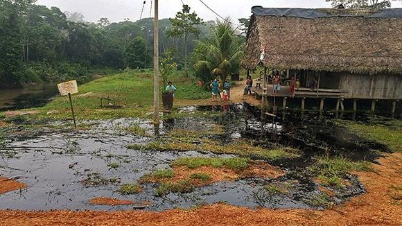 Derrame de petróleo en Loreto.