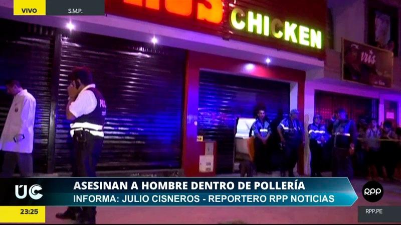 El crimen sucedió poco después de las 8 de la noche cuando el médico cenaba con su familia.