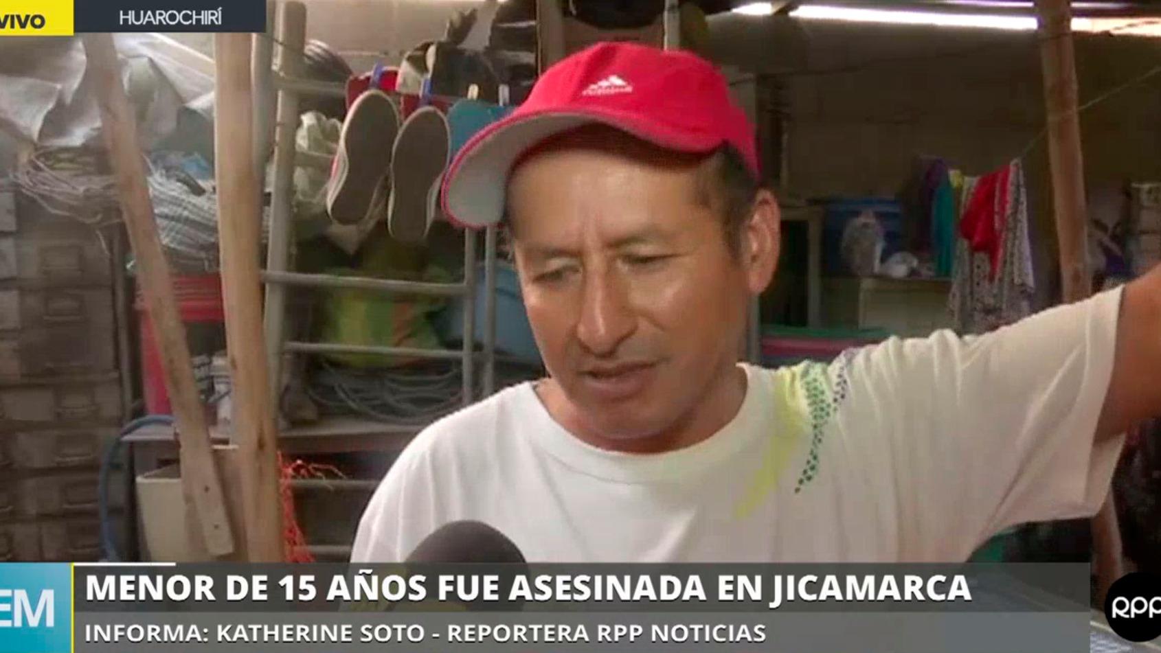 Menor de 15 años fue asesinada en Jicamarca