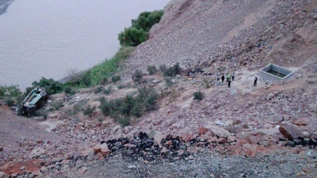 El jefe policial de la Macro Región Sur, Walter Ortiz, confirmó hasta el momento 44 muertos.
