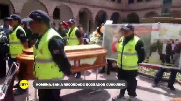 Recibió homenaje póstumo en instalaciones de la Municipalidad Provincial de Cusco