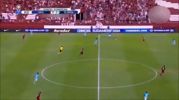 Lanús venía de perder con Racing y se recuperó con Sporting Cristal.