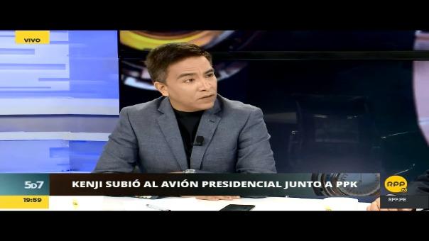 La afirmación de Roberto Vieira en 'Las 5 de la 7' de RPP.