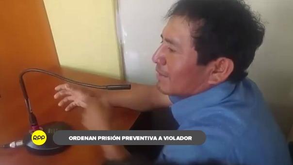 Agresor de menor será trasladado al penal de Chiclayo