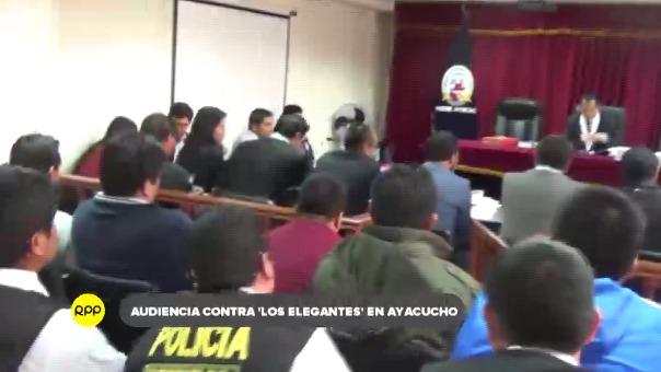 Organización era integrada por cuatro efectivos de la policía, quienes fueron trasladados al penal de Ayacucho I.