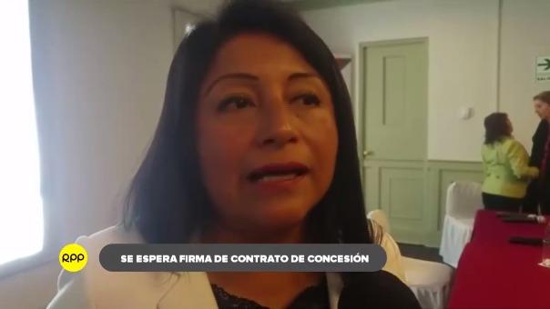Denisse Miralles funcionaria de ProInversión