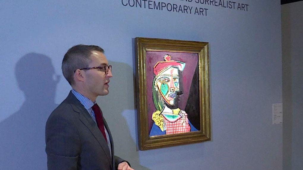 El cuadro de Picasso fue subastado en Londres este miércoles.
