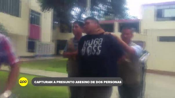 Policía lo intervino en La Esperanza.