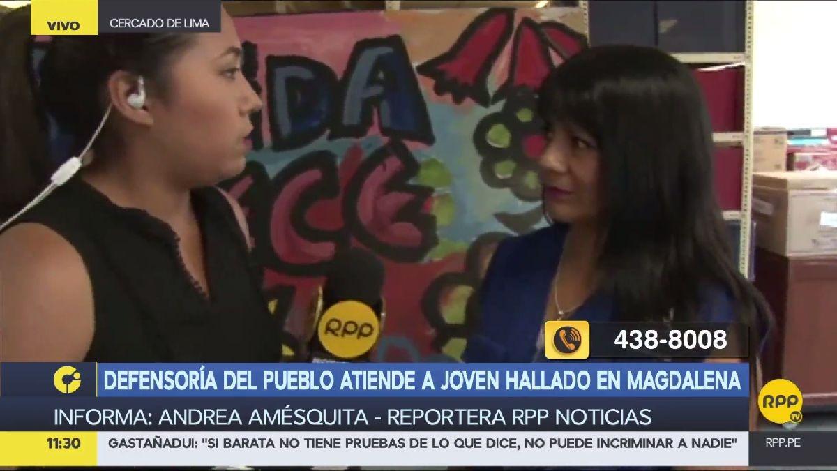 RPP conversó con Milagritos Anderson, representante de la Defensoría, sobre la ayuda de darán a la familia Garay.