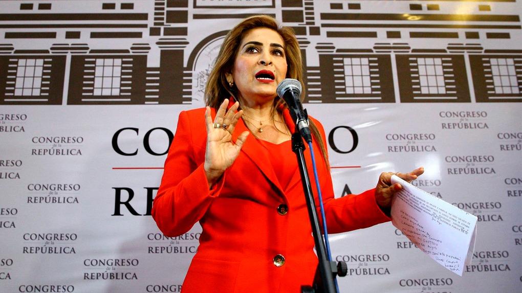Maritza García, integra el grupo de congresistas liderados por Kenji Fujimori que renunciaron a fines de enero a la bancada de Fuerza Popular.