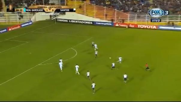 Alfredo Ramúa anotó su primer gol en esta edición de la Copa Libertadores.