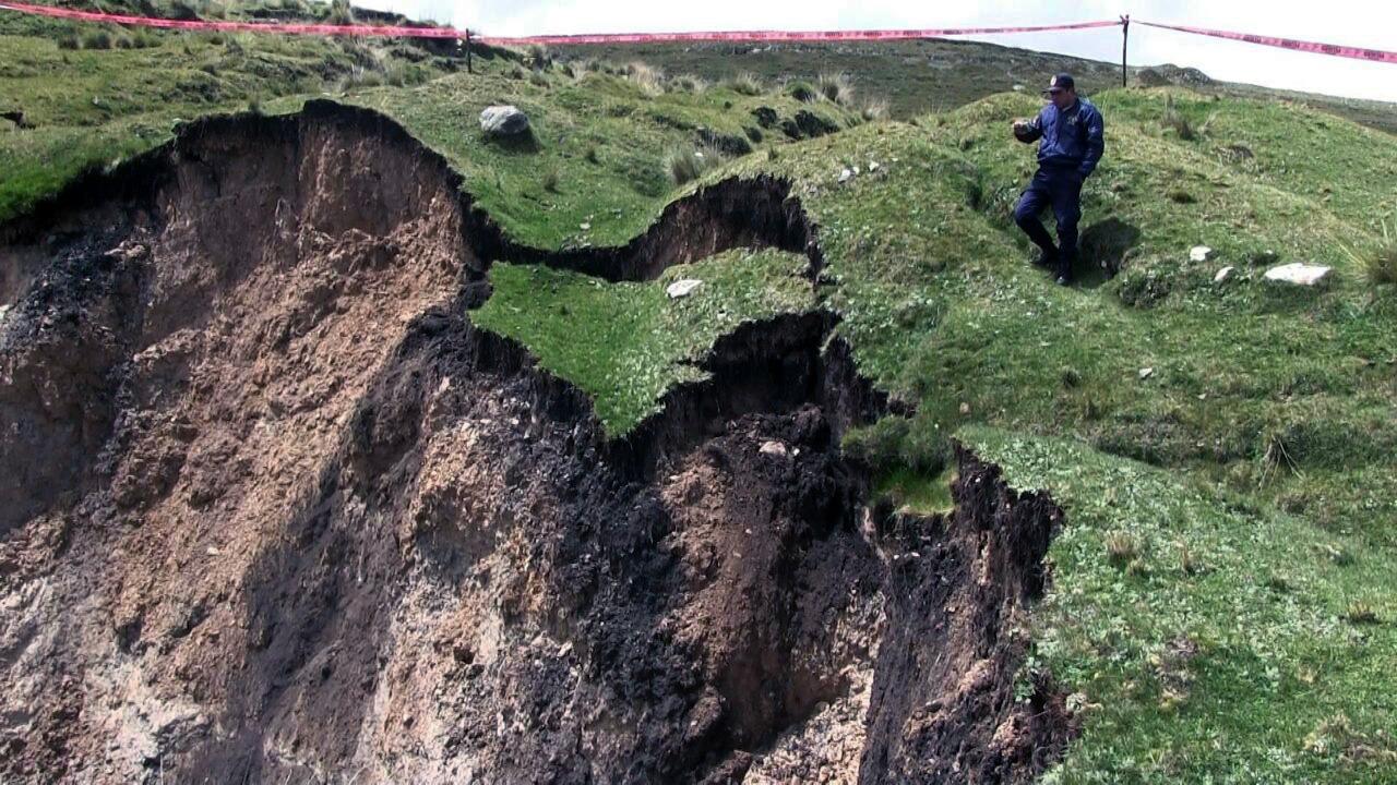 El agujero está en el distrito de Óndores.