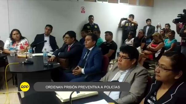 Jeffry Josef Castrejón Castillo, Luis Serapio Morán Flores y Edwin Giovanni Cruz Castro cumplirán prisión preventiva en penal El Milagro de Trujillo