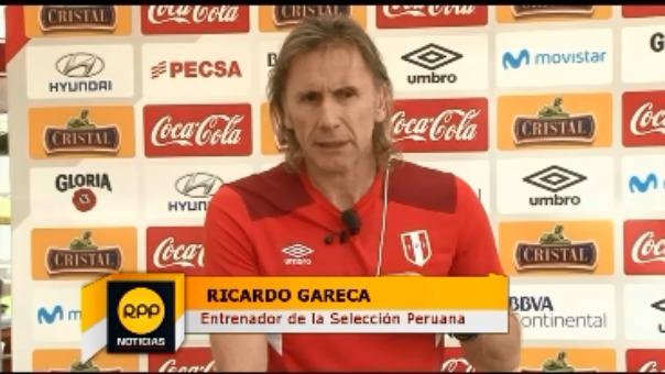 Ricardo Gareca reemplazó a Pablo Bengoechea en la dirección técnica de la Selección Peruana.