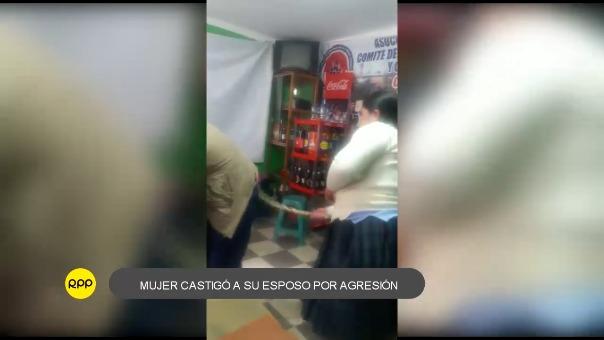 Gilmer Huaripata Chávez, pidió disculpas a su eposa y prometió no volverla a golpear
